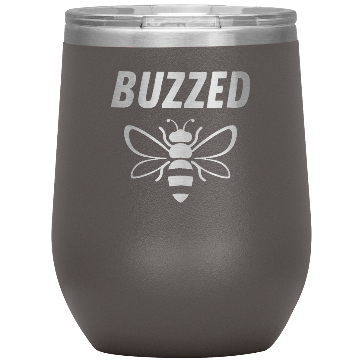 Wine Lover Gift Buzzed Bee Insulated Tumbler