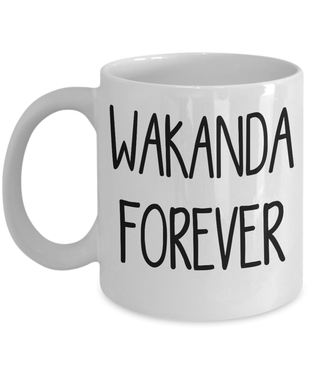 Wakanda Forever Mug Salute Celebrate Excellence Coffee Cup
