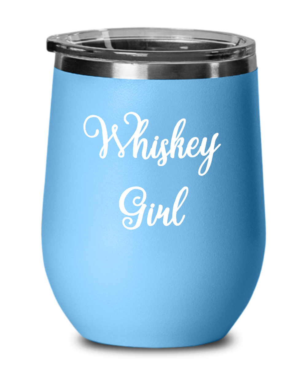 Whiskey Girl Insulated Cocktail Tumbler