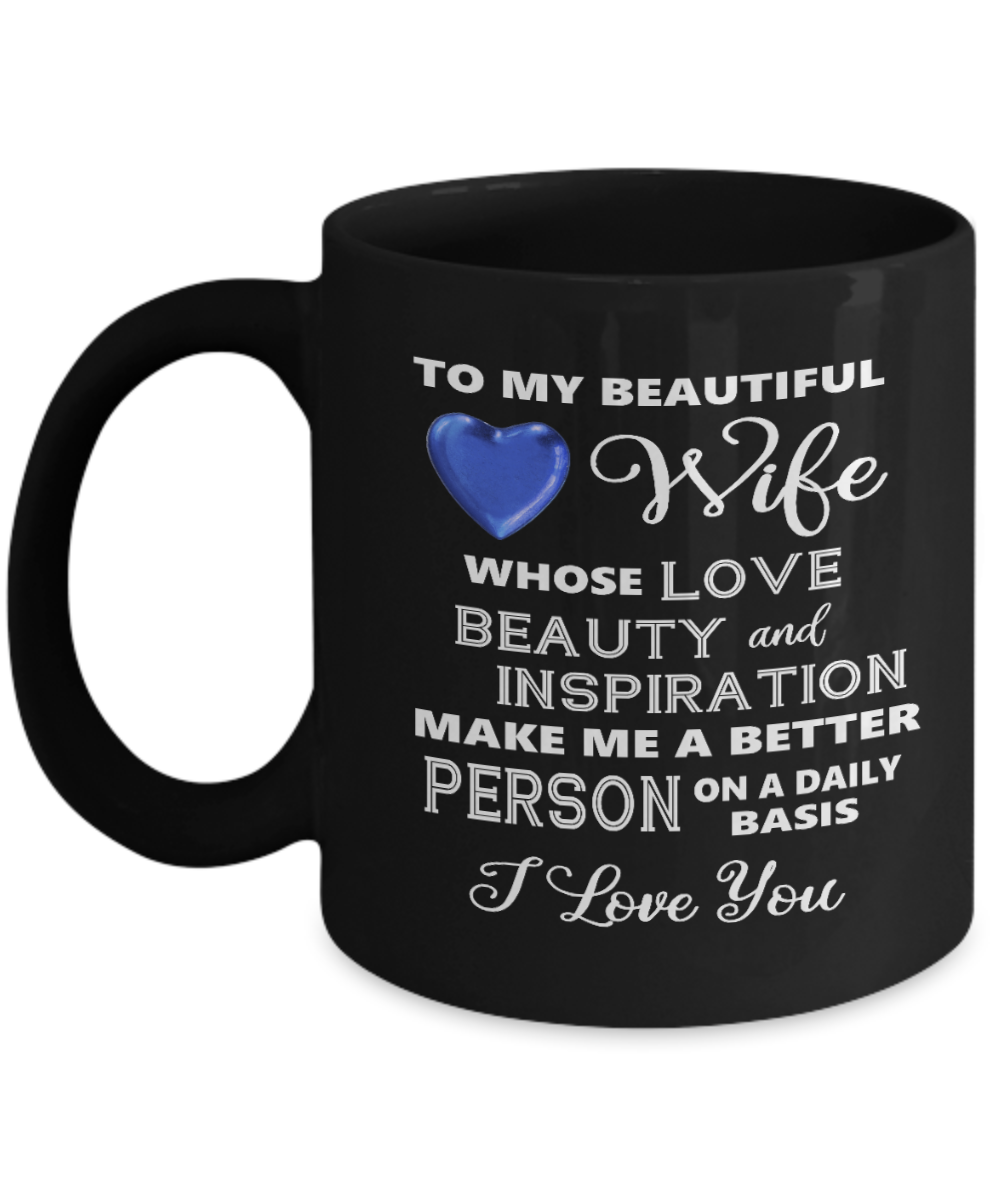 Valentine Wife Gift I Love You Mug