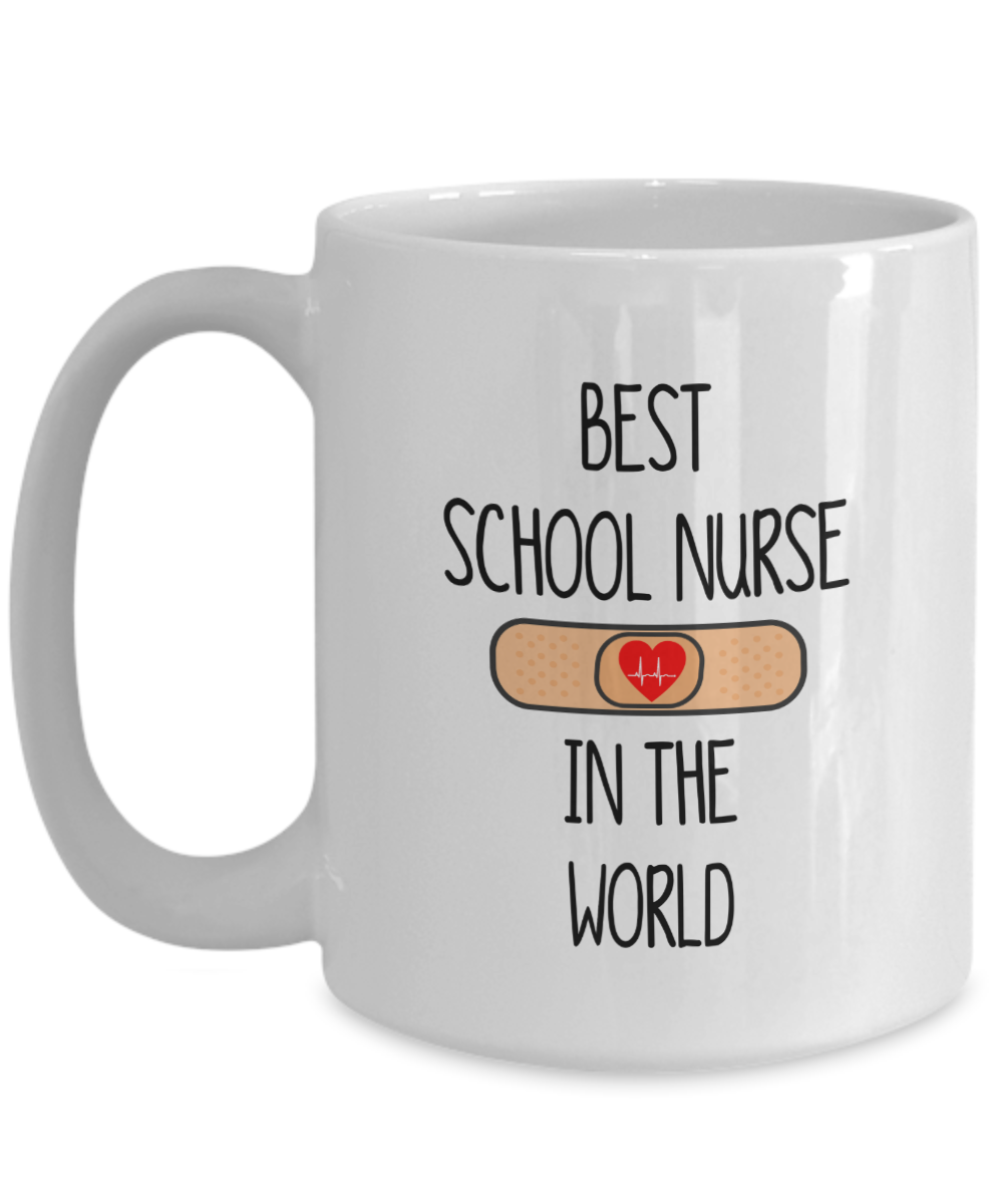 Best School Nurse Gift Mug for School Nurses