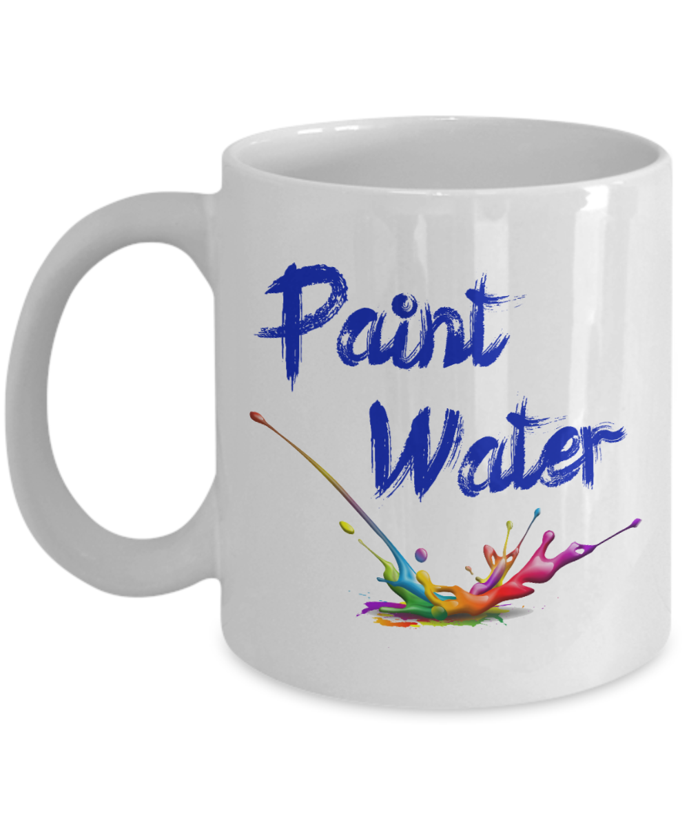 Artist Gift Mug Paint Water Coffee Cup