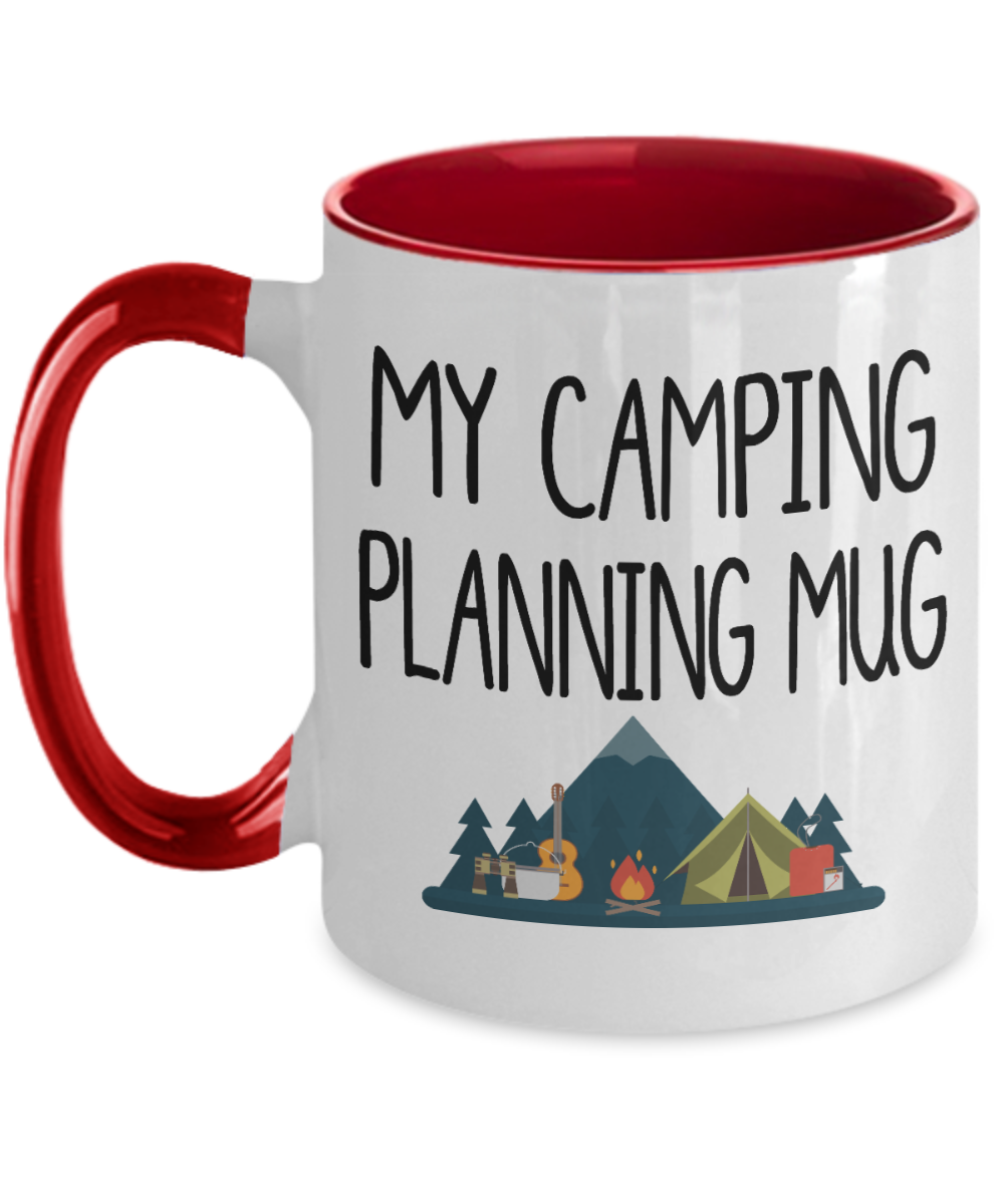 Campers Gift Idea My Camping Planning Mug