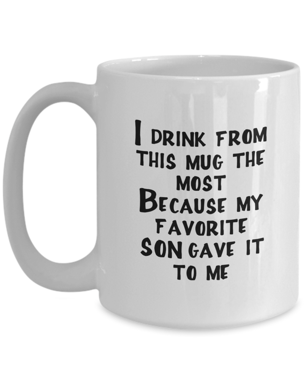 Favorite Son Gift Coffee Mug