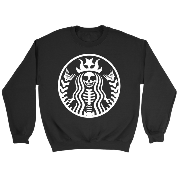 Starbucks Skeleton Sweatshirt
