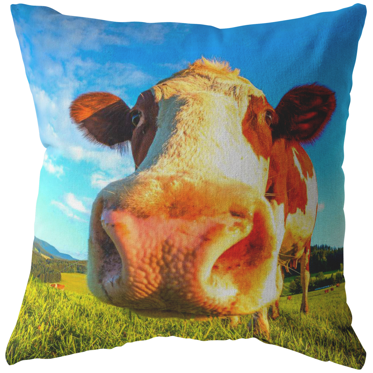 Cow Throw Pillow Perfect Cow Lover Gift