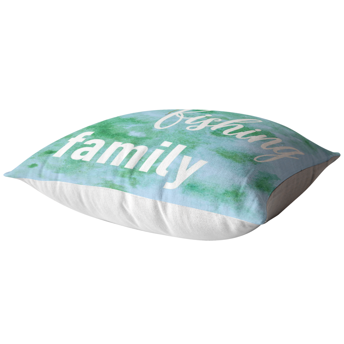 Fishing Home Decor Pillow We Are A Fishing Family