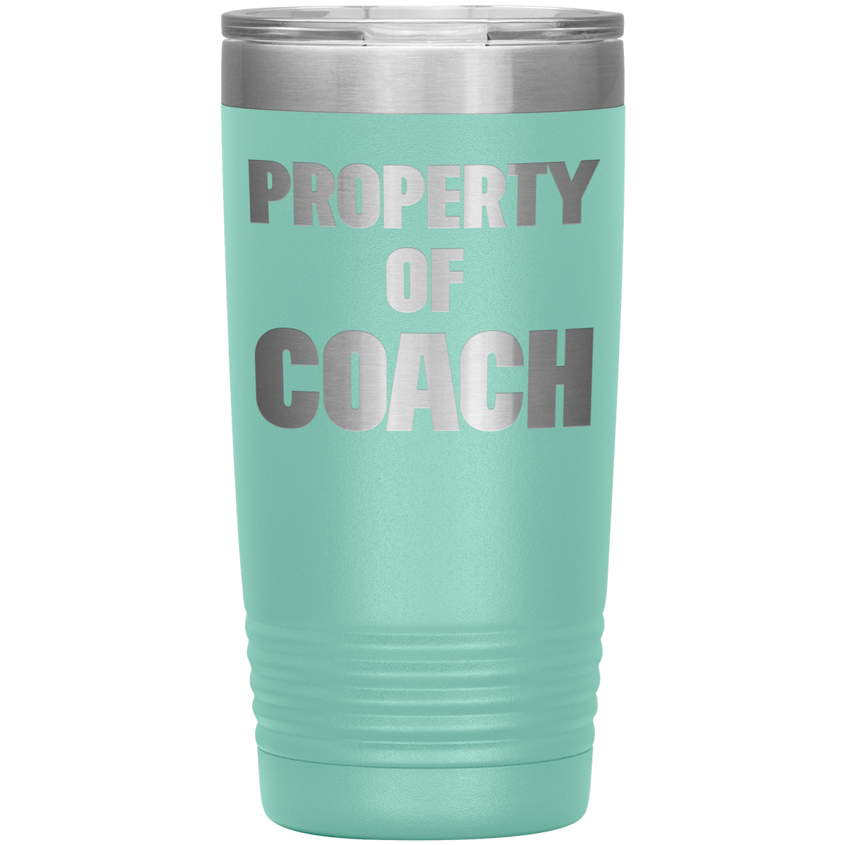Coach Gift Idea Property of Coach Tumbler