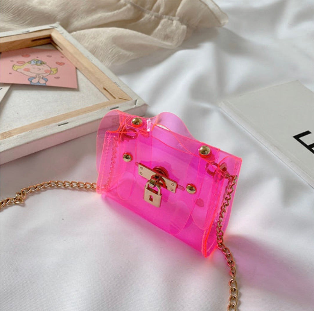 LIL CHIC JELLY Purse (Pink)