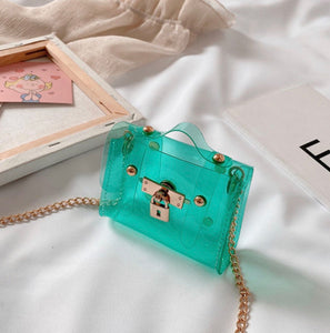 LIL CHIC JELLY Purse (Green)