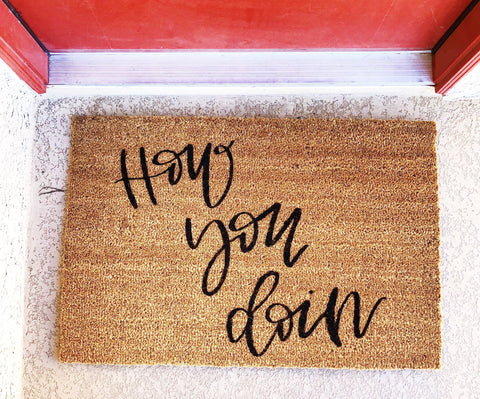 How You Doin Doormat