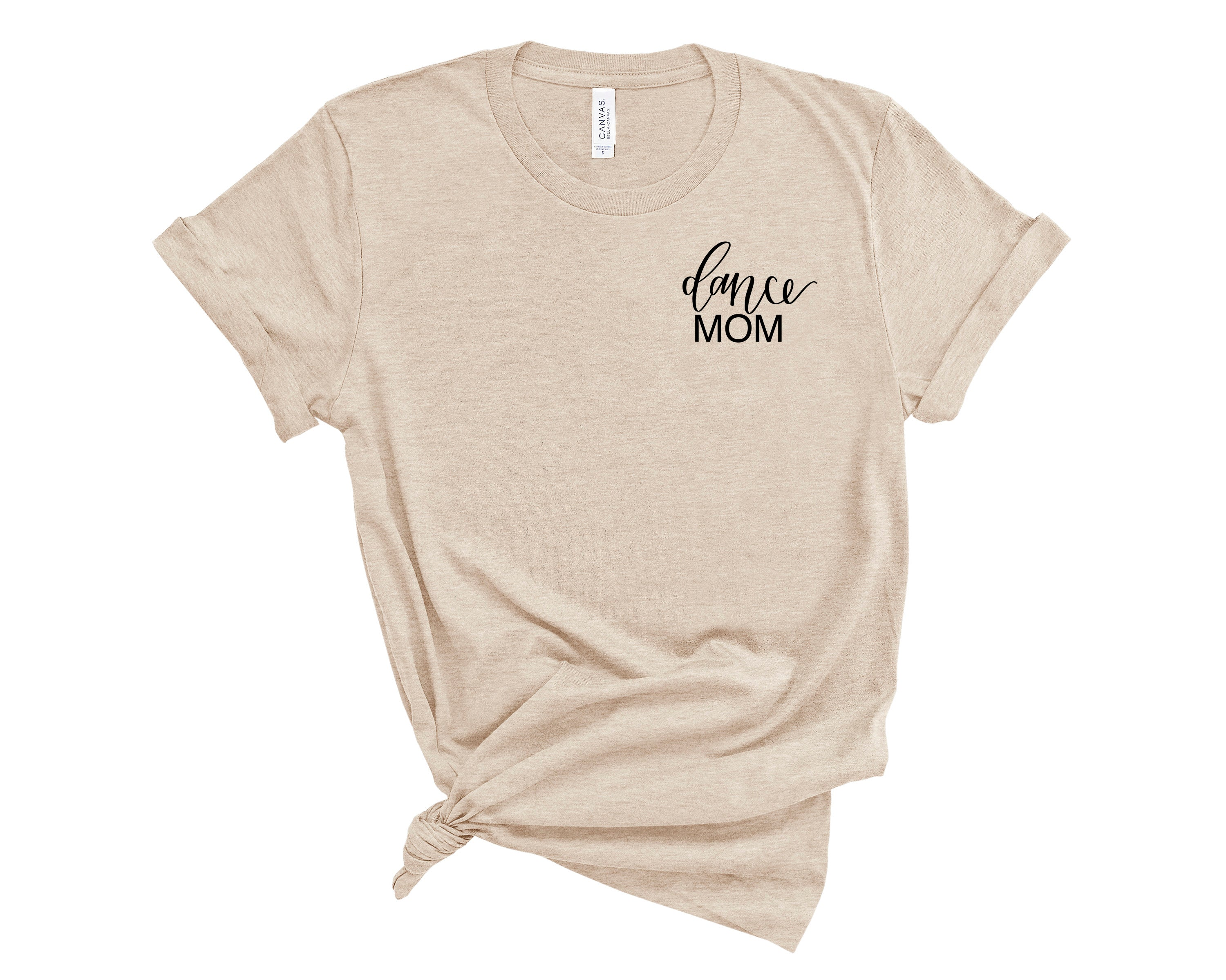 Dance Mom Embroidered Shirt