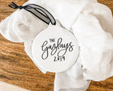 Personalized Porcelain Ornament