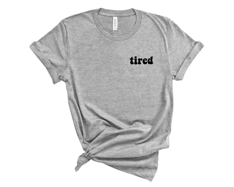 Tired Embroidered Shirt