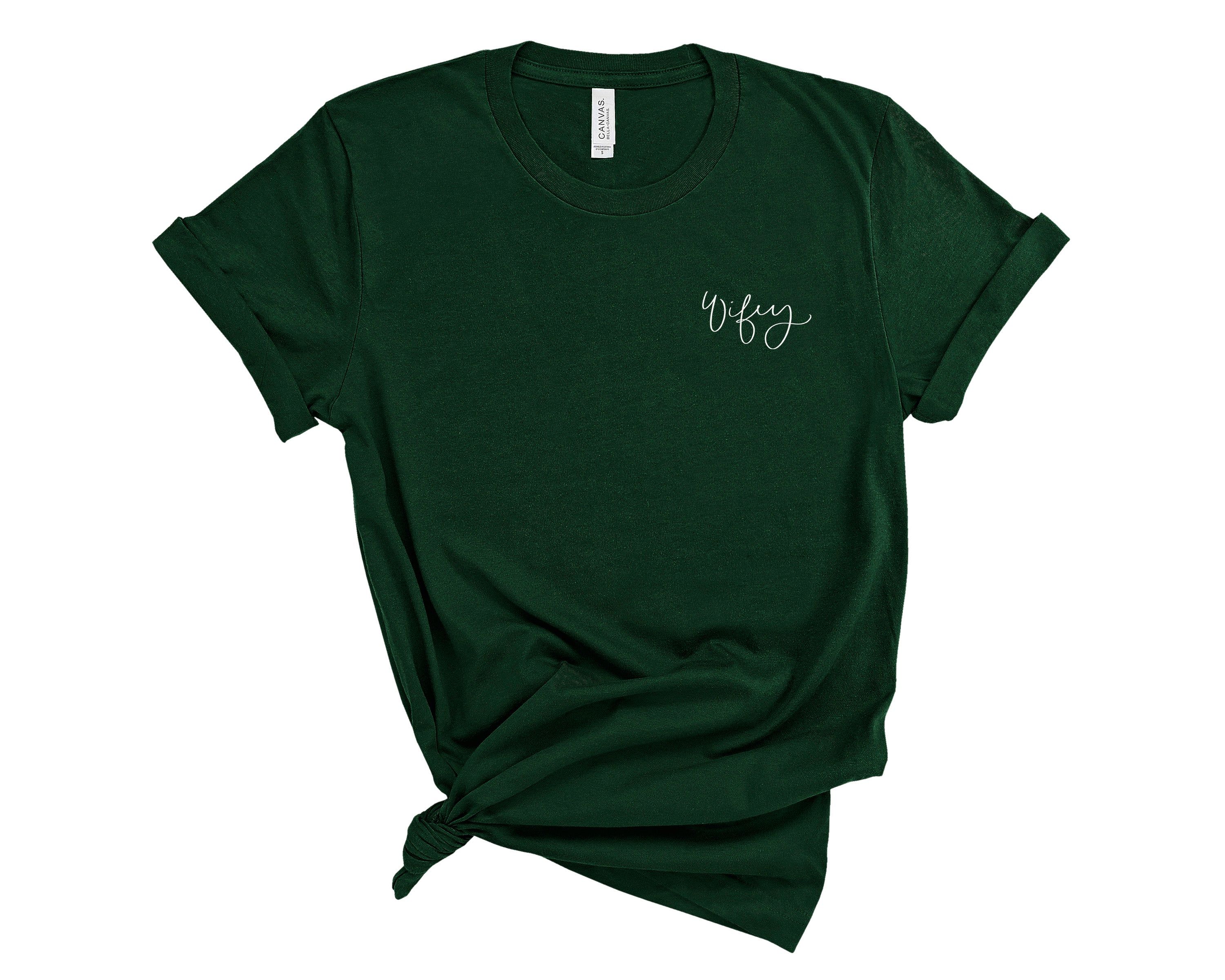 Wifey Embroidered Shirt
