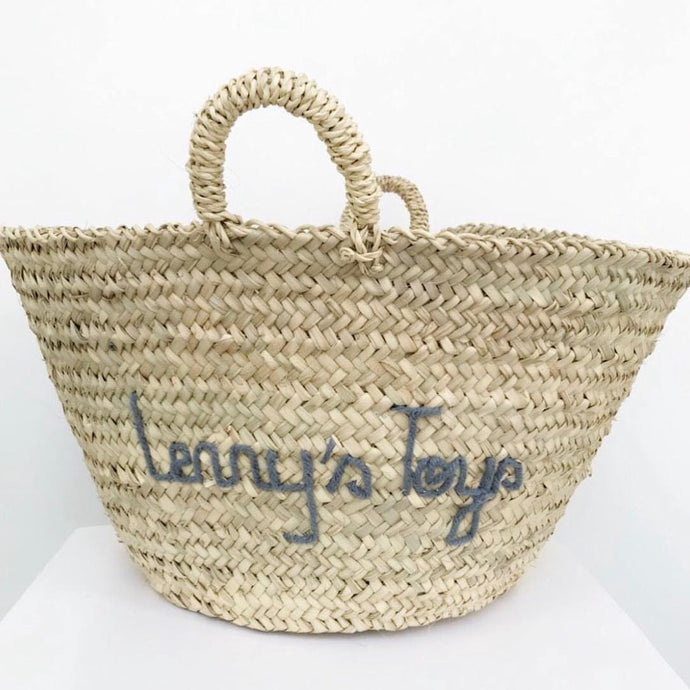XL PERSONALISED STORAGE BASKET