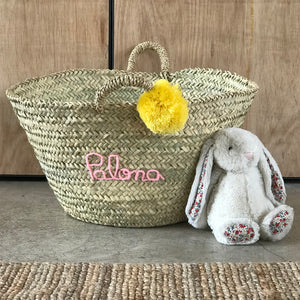 LARGE PERSONALISED STORAGE BASKET