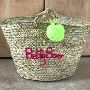 XL PERSONALISED STORAGE BASKET (please note delay due to covid-19)