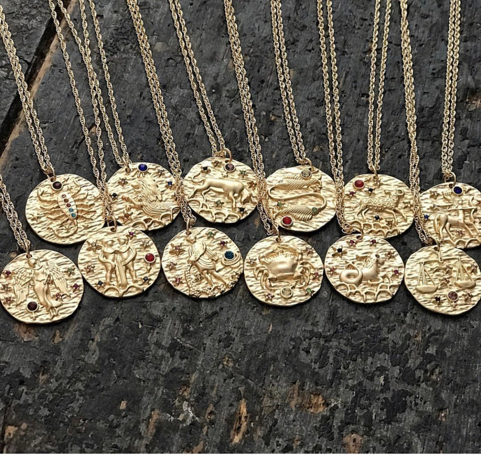 GEM ZODIAC NECKLACE