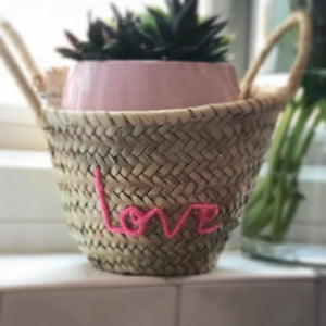 TEENIE LOVE STORAGE BASKET