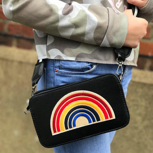ZIPPY RAINBOW - BLACK