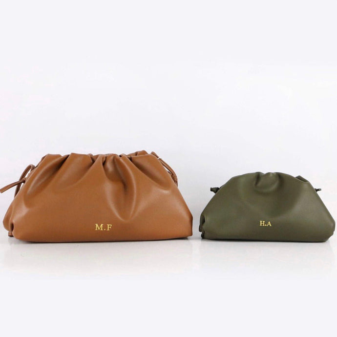 CLOUD BAG - MEDIUM LEATHER PERSONALISED (PRE-ORDER)