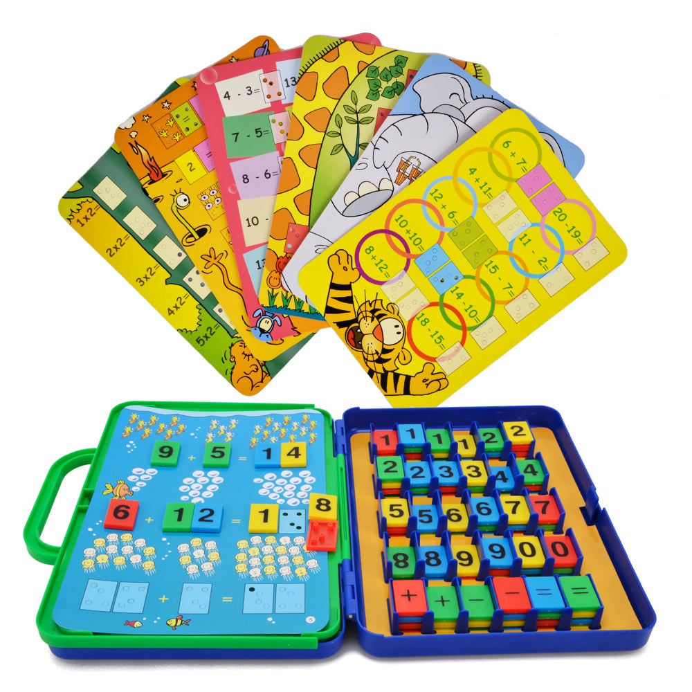 Preschool Maths Cards Learning Toys