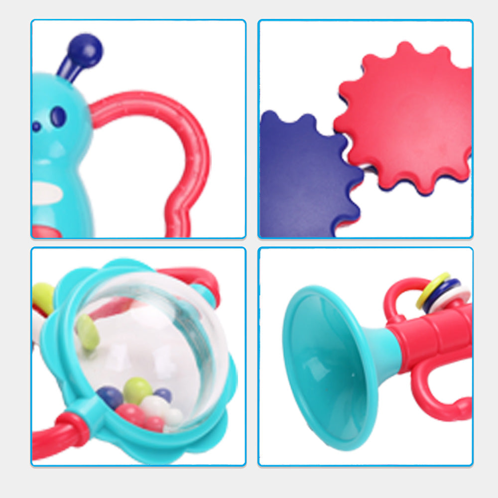 Rattle Teether Baby Toys - 10pcs