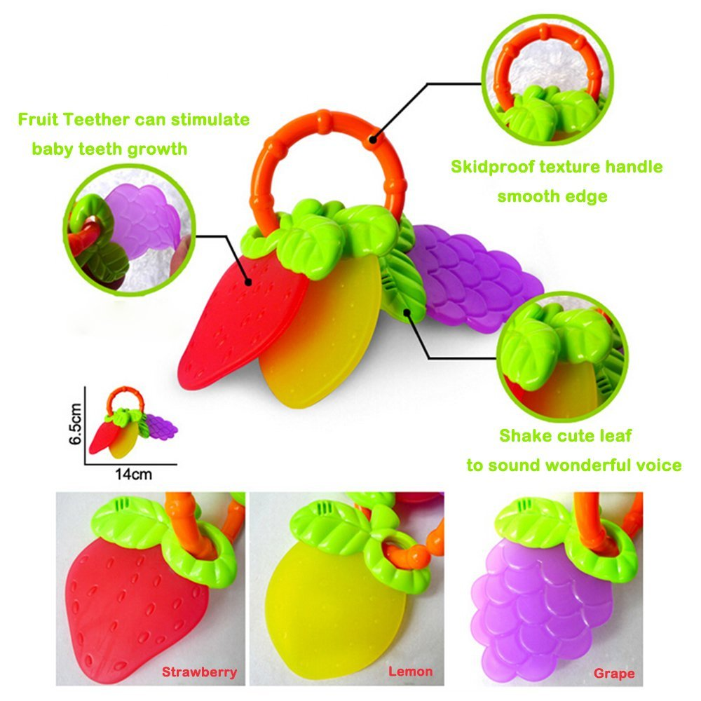 Rattle Teether Baby Toys