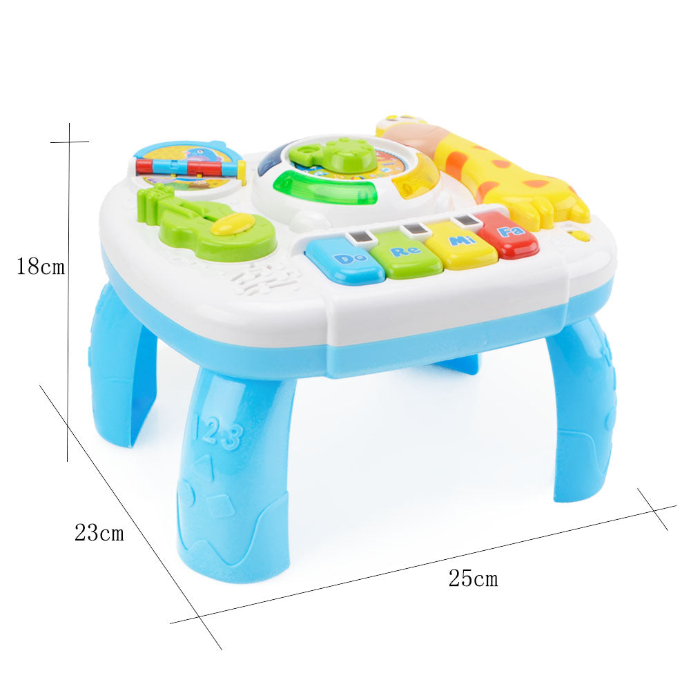 Learning Activity Table Music Toy 2 in 1