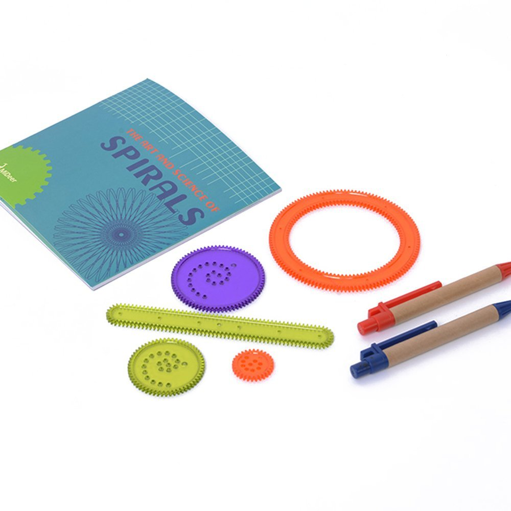 Art Science Spirograph Design HANMUN Drawing and Painting Supplies