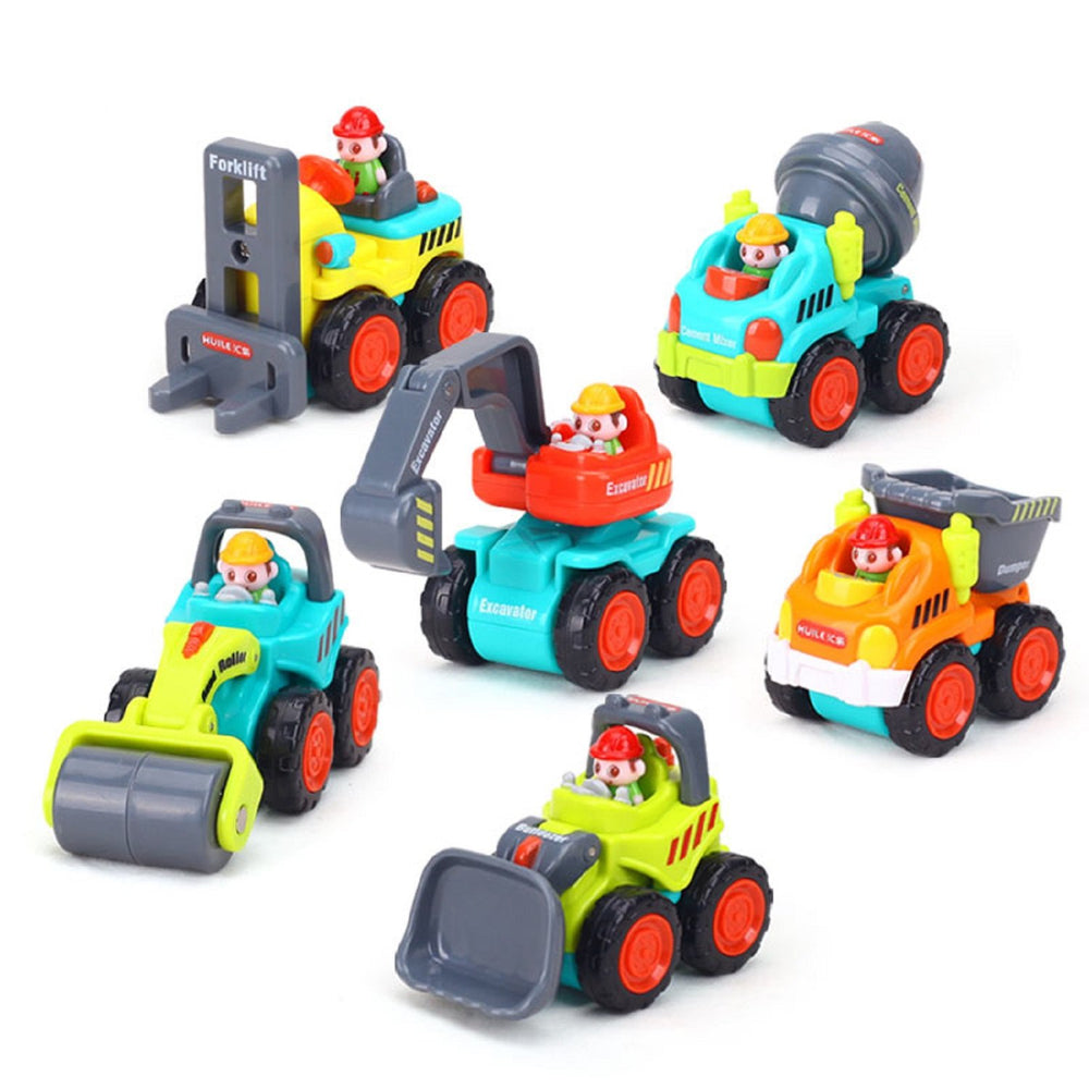 Construction Vehicles Baby Toy Cars