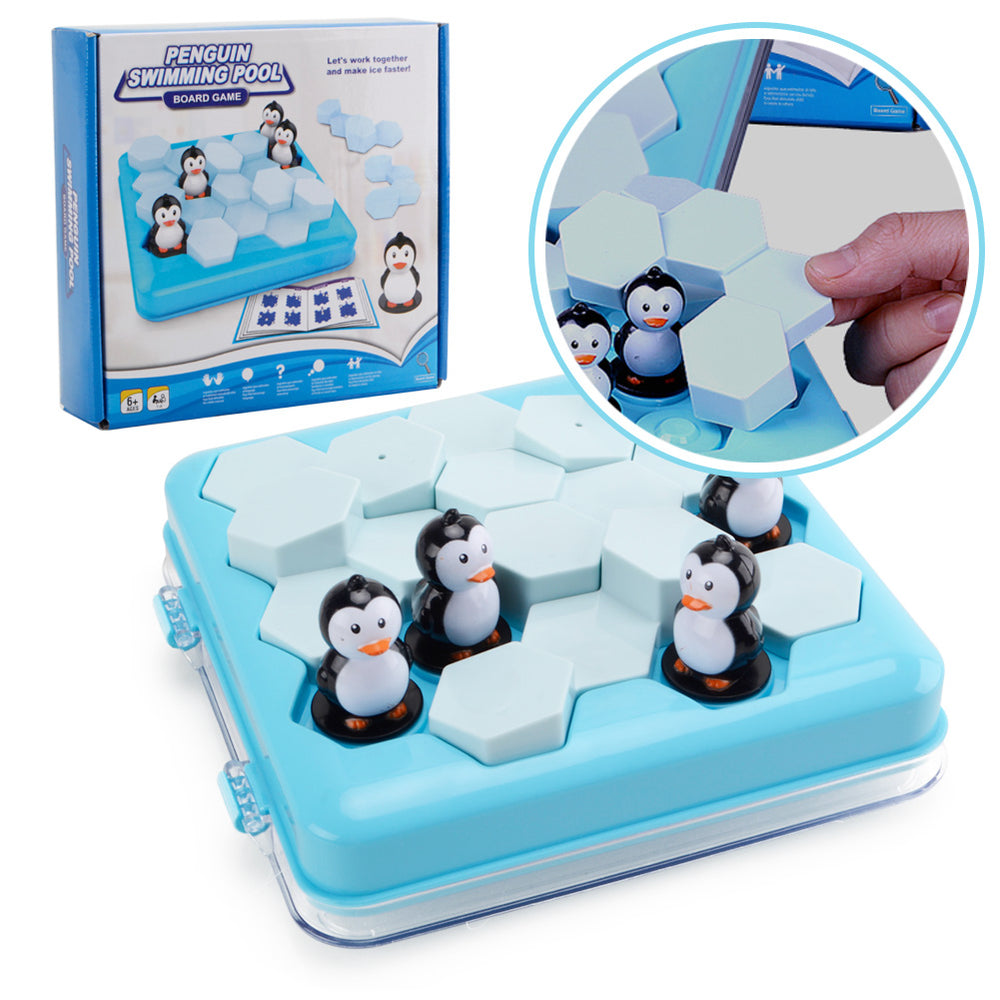Penguins Pool Party Table Games