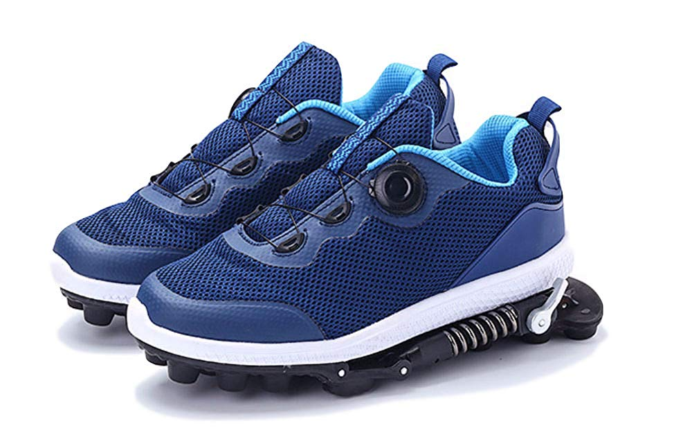 Promise Technology Spring Cushion Running Shoes Athletic Sneakers Pain Relief Footwear