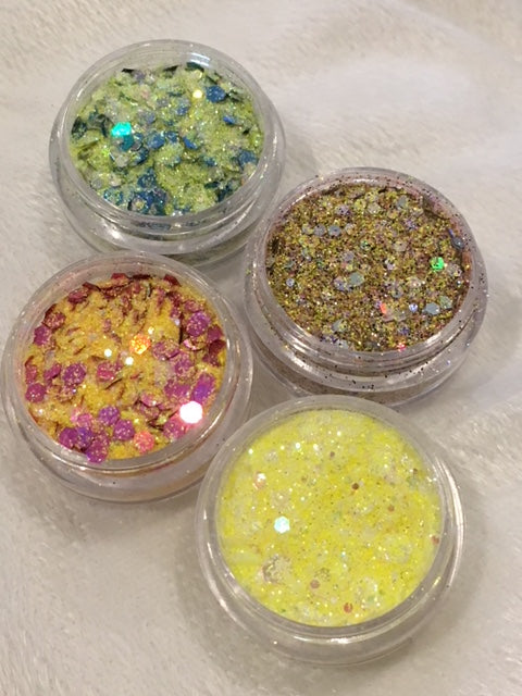 ICY LEMONADE GLITTER COLLECTION