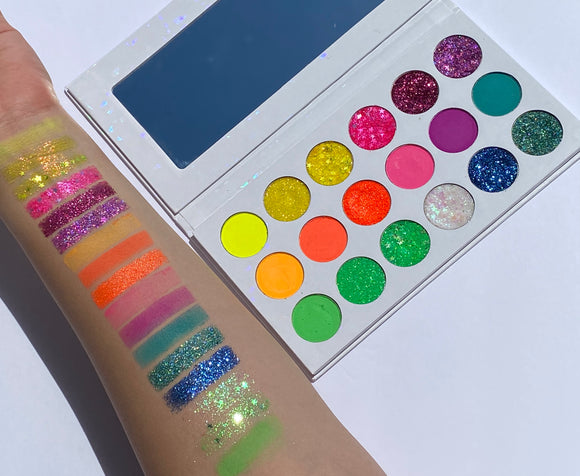 Neon Summer Eyeshadow Palette