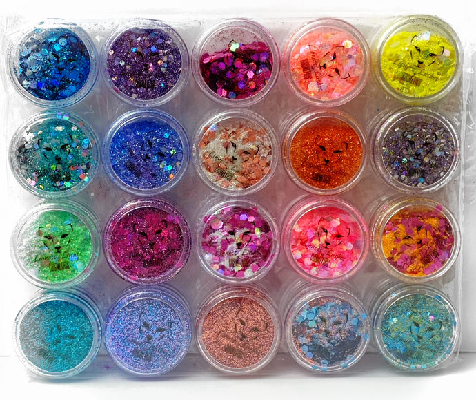 ALL 5 Glitter Collections ($60-$70.00 VALUE)