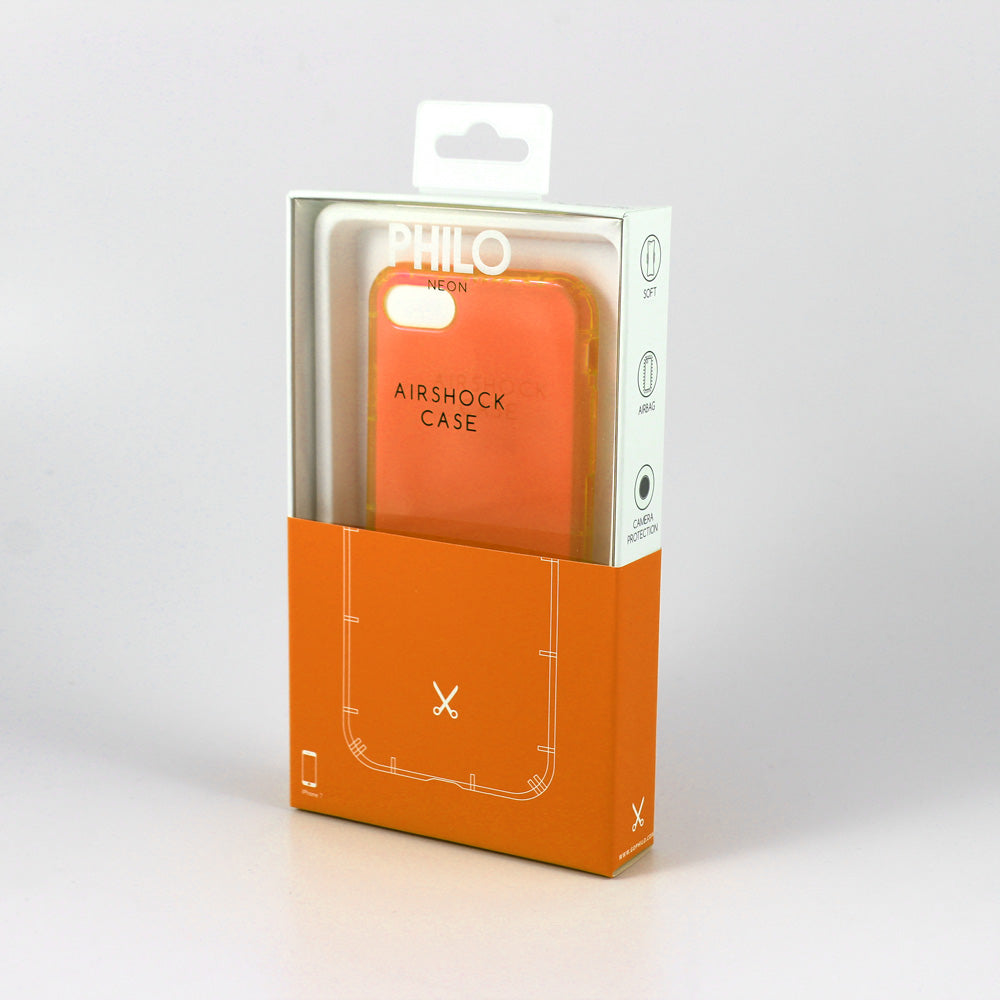 Philo Airshock iPhone X/XS Case - Fizzy Orange