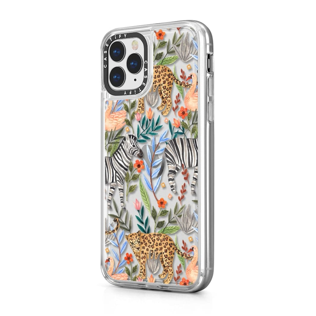 Casetify iPhone Grip Moody Jungle  Case