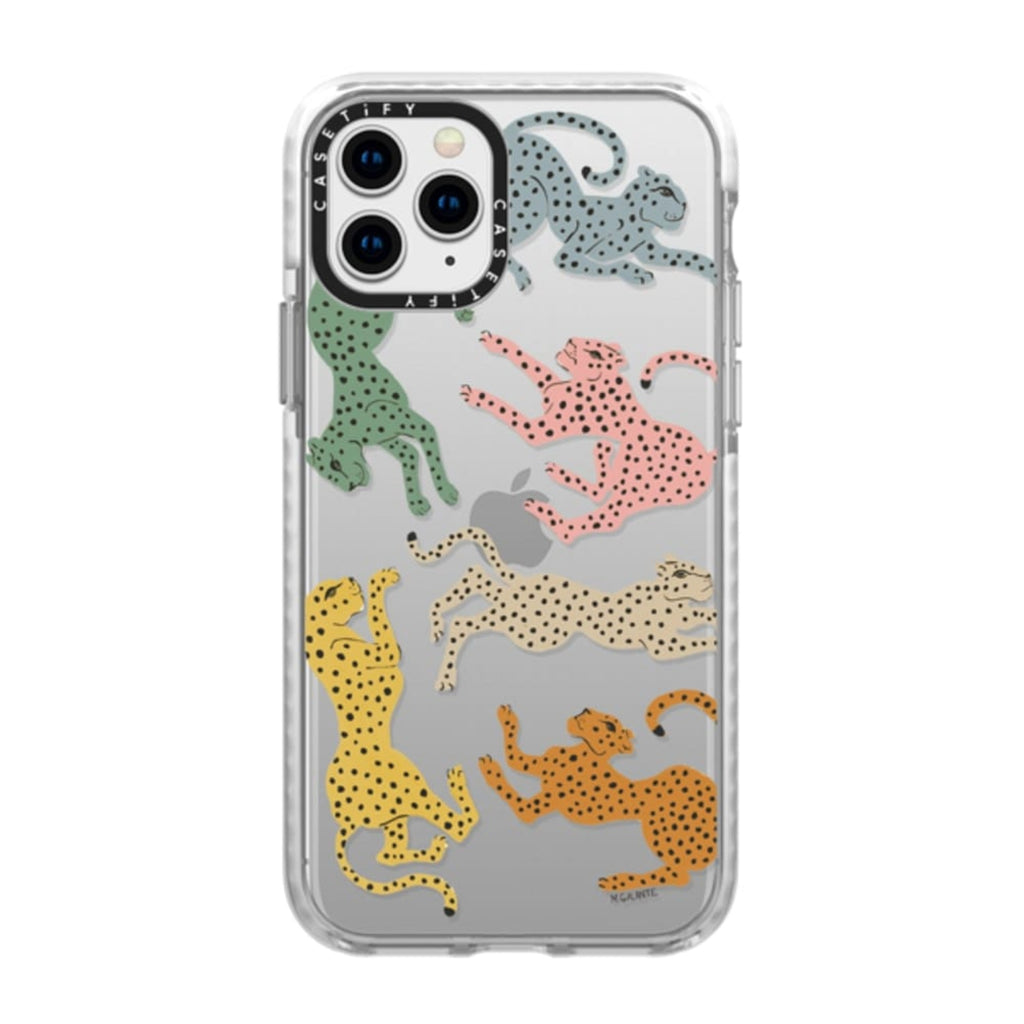 Casetify iPhone Impact Rainbow Cheetah Case