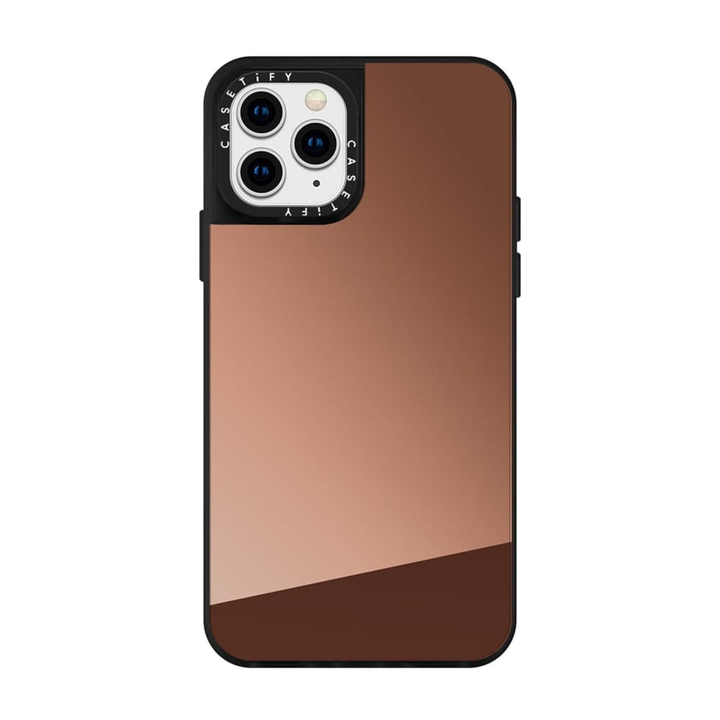 Casetify iPhone Mirror Bronze Case