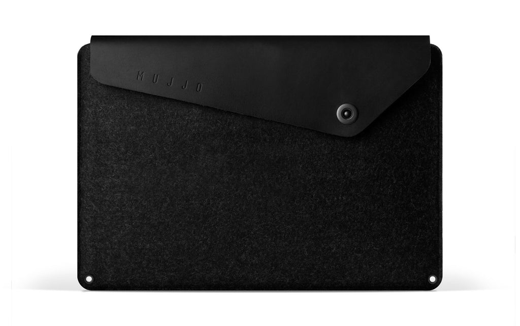 "MUJJO SLEEVE 15"" MACBOOK PRO BLACK"
