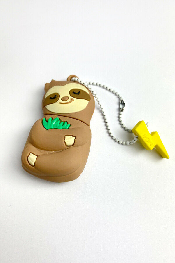MojiPower USB Flash Drive - Sleepy Sloth