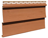 D4 Siding Stained American Cedar - Piece - 23D493PC - Timbermill Siding