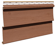 D4 Siding Stained Forest Brown - Piece - 23D495PC - Timbermill Siding