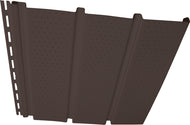 T4 Vinyl Soffit - Vented Musket Brown - Carton - 32DS12VT98 - Timbermill Siding