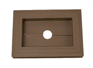 Recessed Split Mini Mount - Forest Brown - Piece - 39Z15066