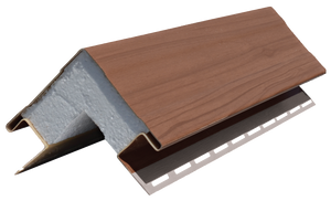 Outside Corner Post Stained Forest Brown - Piece - 39AD118F41295PC - Timbermill Siding