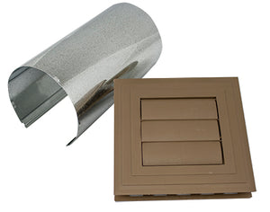 Exhaust Vent Kit - Forest Brown - Piece - 39ZE066 - Timbermill Siding