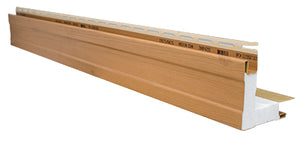 "4"" Outside Corner 3/4"" Receiver with Foam - Carton - 39ADF41293 - Timbermill Siding"